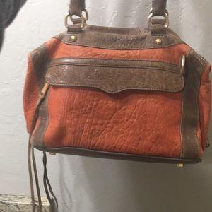 Rebecca Minkoff MAB satchel - coral